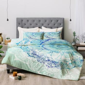 Rosebud Studio Be Yourself Always Comforter by Deny Designs