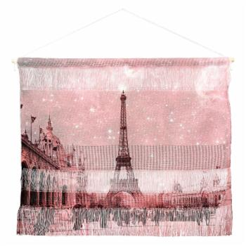 Deny Designs Bianca Green Stardust Covering Vintage Paris Wall Scroll