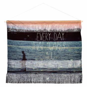 Deny Designs Happee Monkee Do One Thing Every Day Wall Hanging