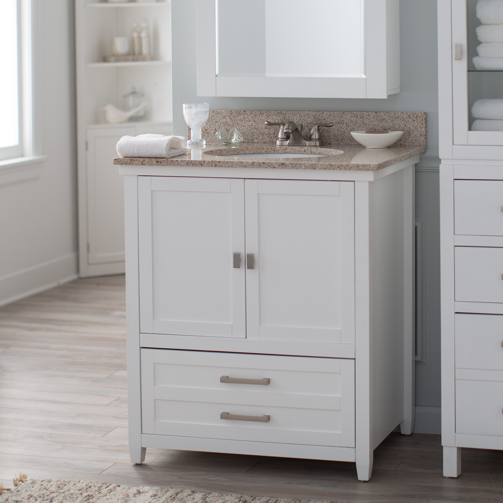 Belham Living Longbourn Vanity Base With Optional Top