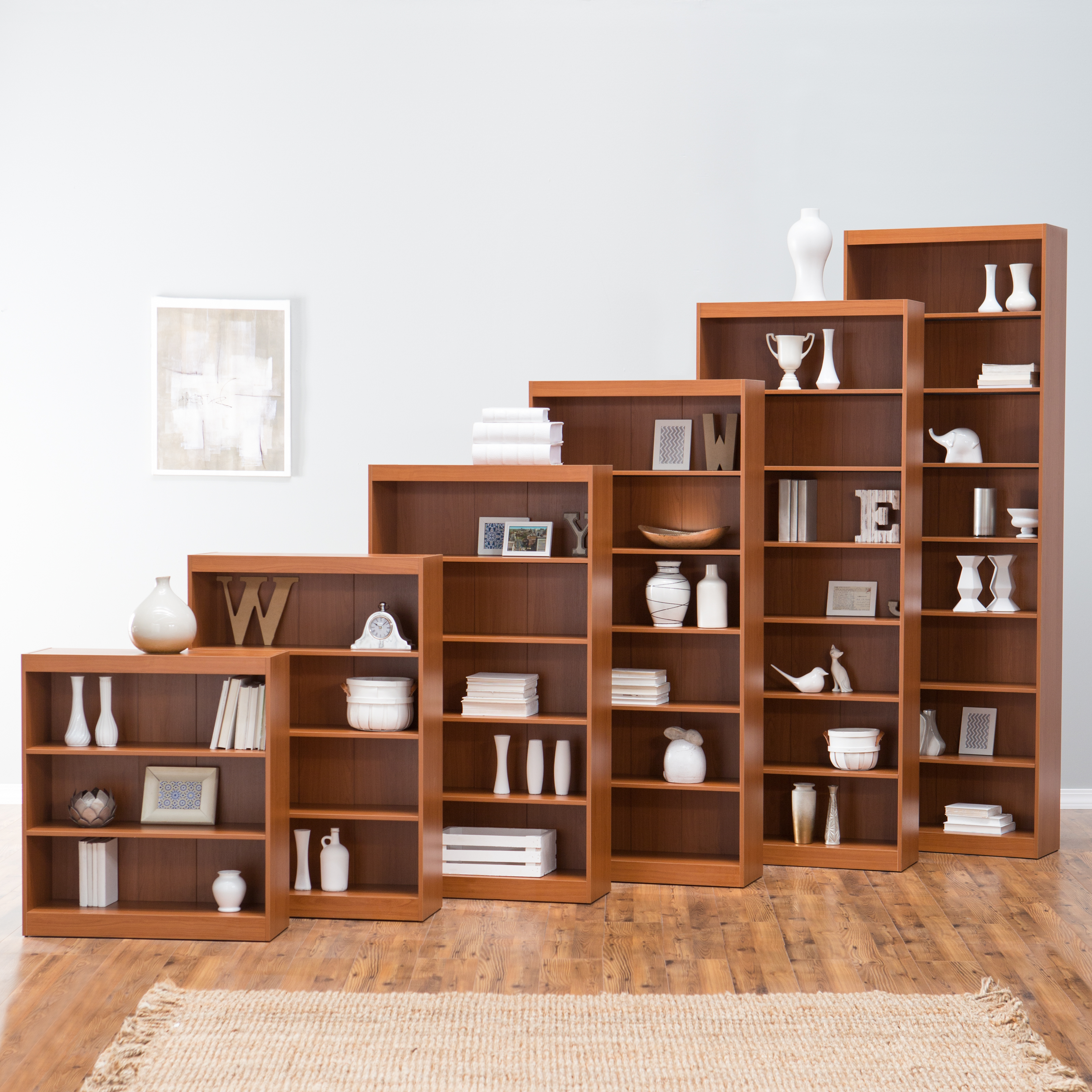 best service 59f5e 415e2 Remmington Heavy Duty Bookcase - Oak