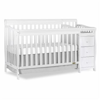 Dream On Me Brody 5-in-1 Convertible Crib and Changer