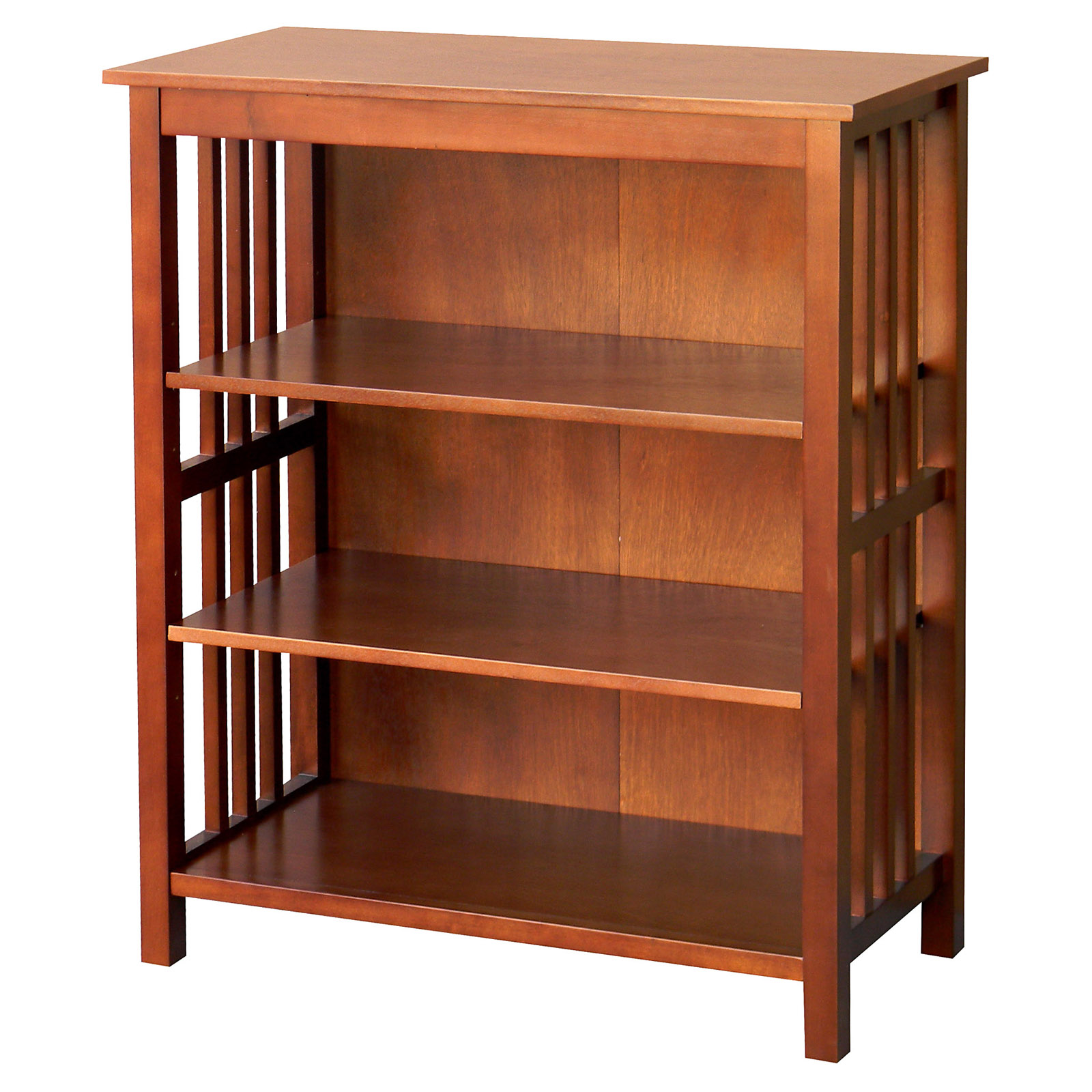 DonnieAnn Hollydale 36 in. Bookcase - Chestnut  sc 1 st  Hayneedle & Craftsman u0026 Mission Style Bookcases and Bookshelves | Hayneedle