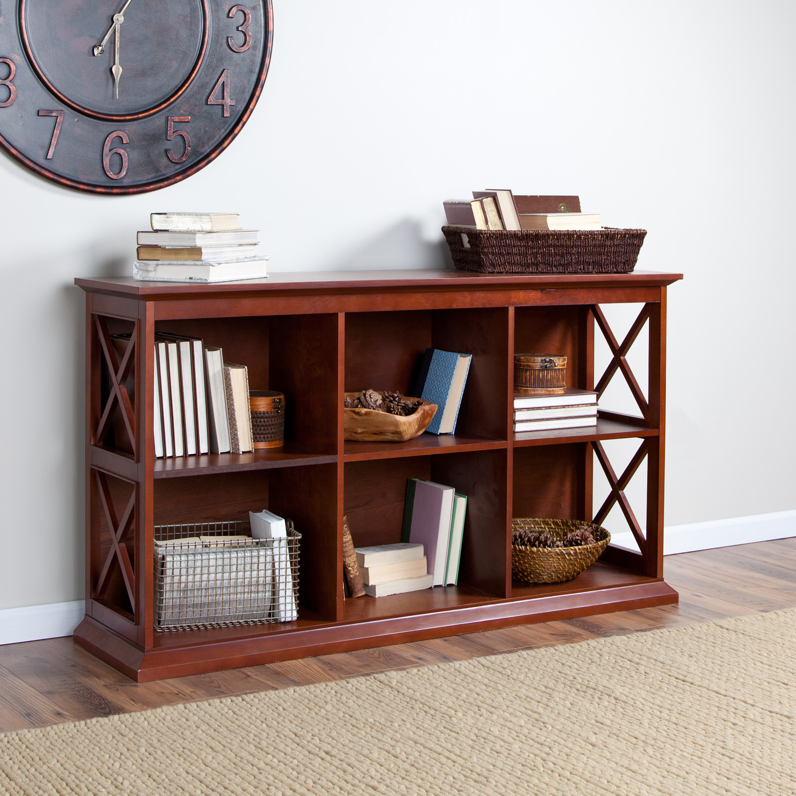 Belham Living Hampton Console Table in Cherry