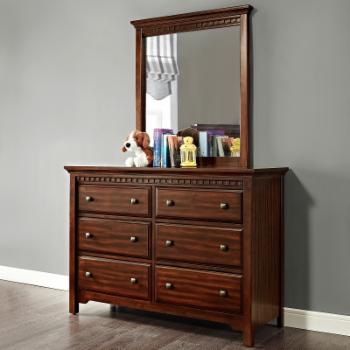 Dorel Living Auburn Double Dresser