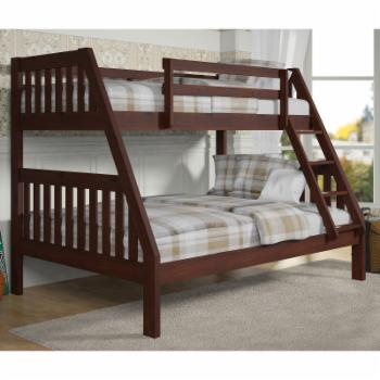 Slatted Twin over Full Bunk Bed