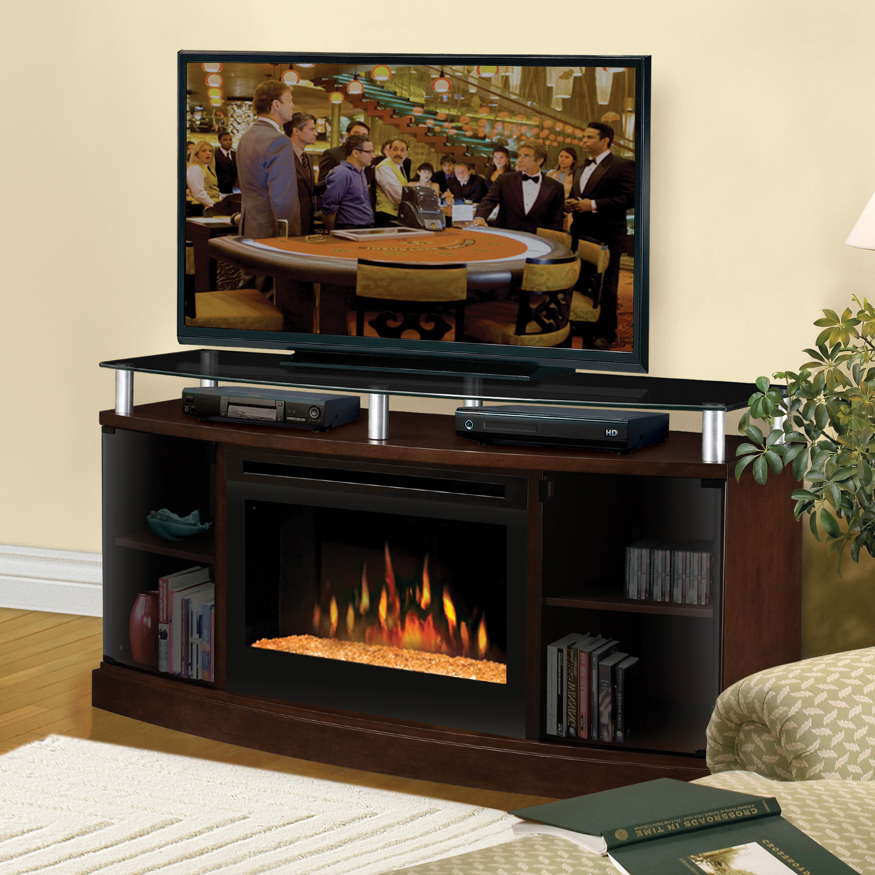 click image media product centers insert living to fireplace tv contemporary with item prairie mesquite pine stands fireplaces cabinets stand change storage