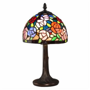 Dale Tiffany Carnation Table Lamp