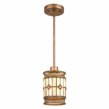 Dale Tiffany Minerals TH17020 Tiffany Mini Pendant Light