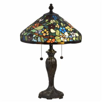 Dale Tiffany Southern Floral Tiffany Table Lamp