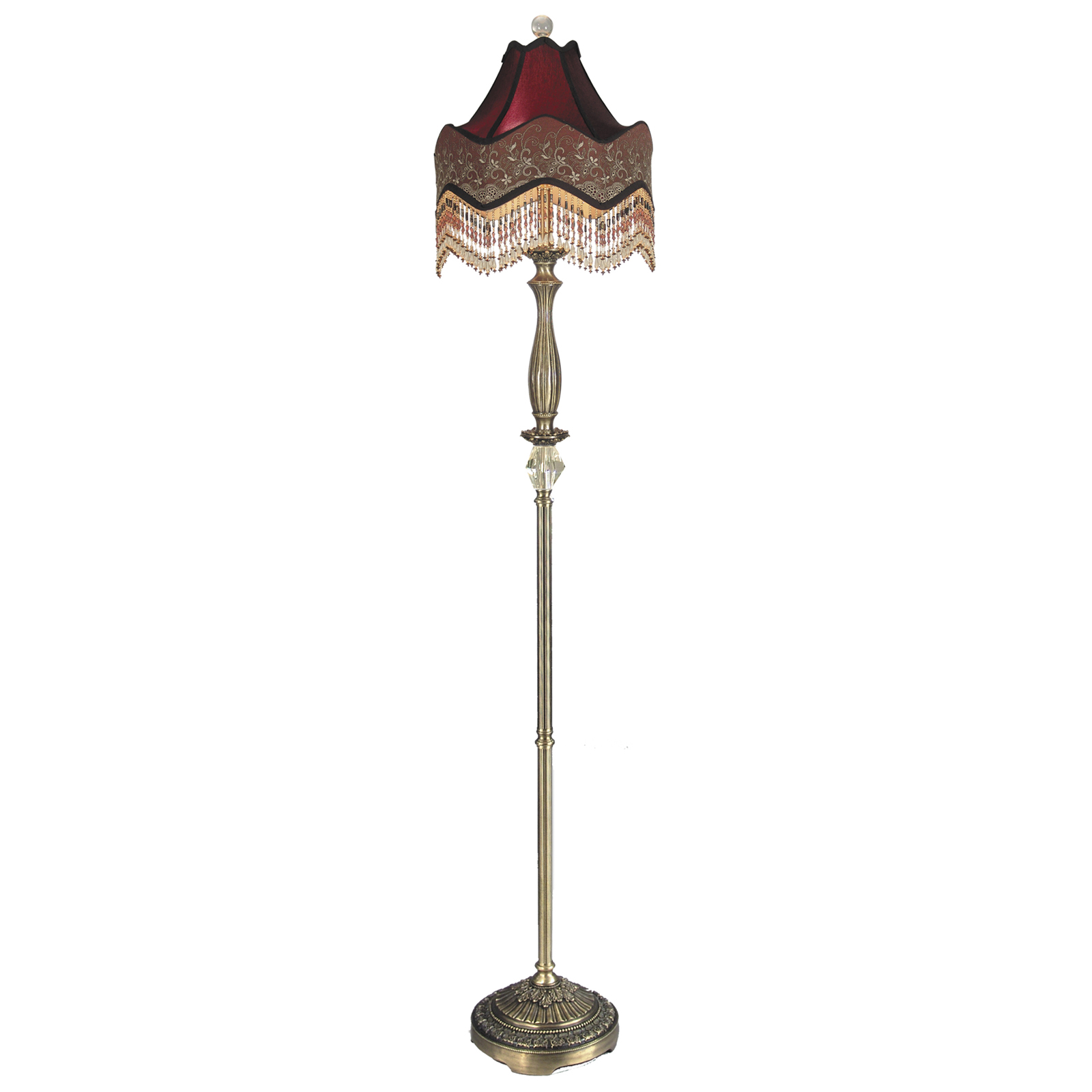 Beaded Floor Lamps: ,Lighting