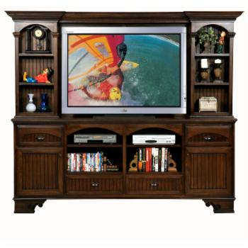 Eagle Furniture American Premiere 90 in. Entertainment Console with Optional hutch with 60 in. Opening