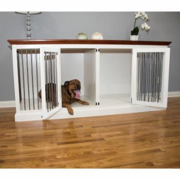 Eagle Furniture Large Double Wide Dog Crate Credenza