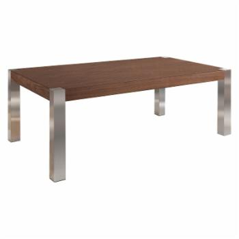 Eagle Furniture Coffee Table with Stainless Legs