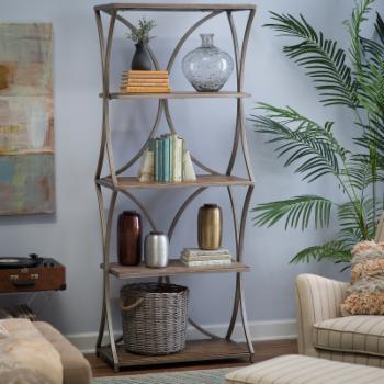 Belham Living Edison Reclaimed Wood Bookcase