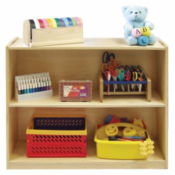 ECR4KIDS Deep Shelf Module with Solid Back
