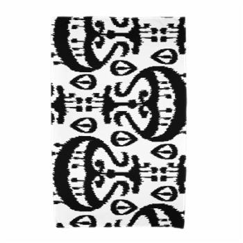 E by Design Happy Hippy Ikat Beach Towel