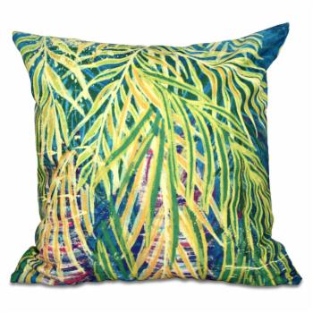 E by Design Beach Vacation Malibu Decorative Pillow