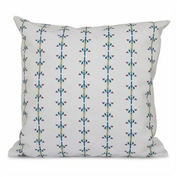 E by Design Happy Hippy Jodhpur Stripe Outdoor Pillow