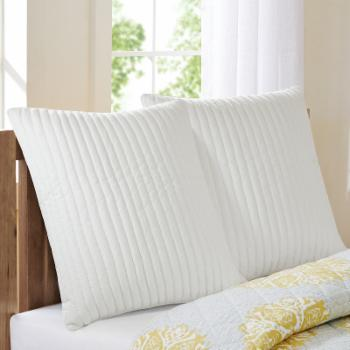 Camila Quilted Euro Sham by INK+IVY