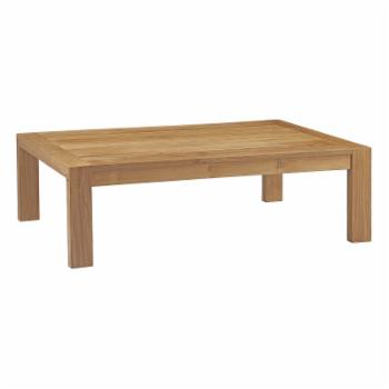 Modway Upland Patio Teak Coffee Table