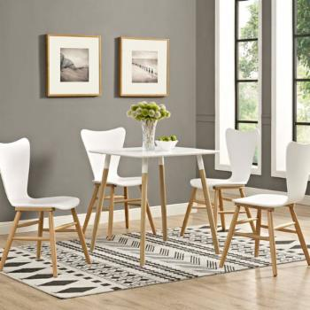 Modway Continuum Square Dining Table