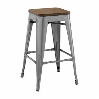 Modway Promenade Metal Counter Stool