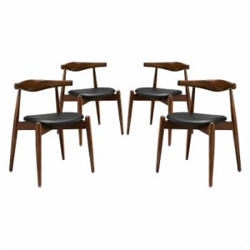 Modway Stalwart Dining Side Chair - Set of 4