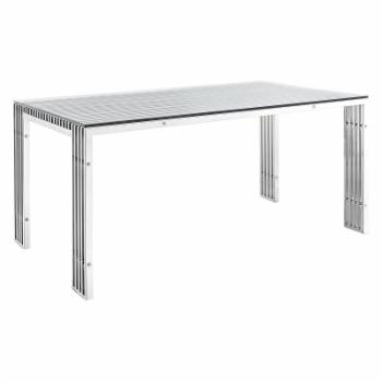 Modway Gridiron Rectangle Dining Table