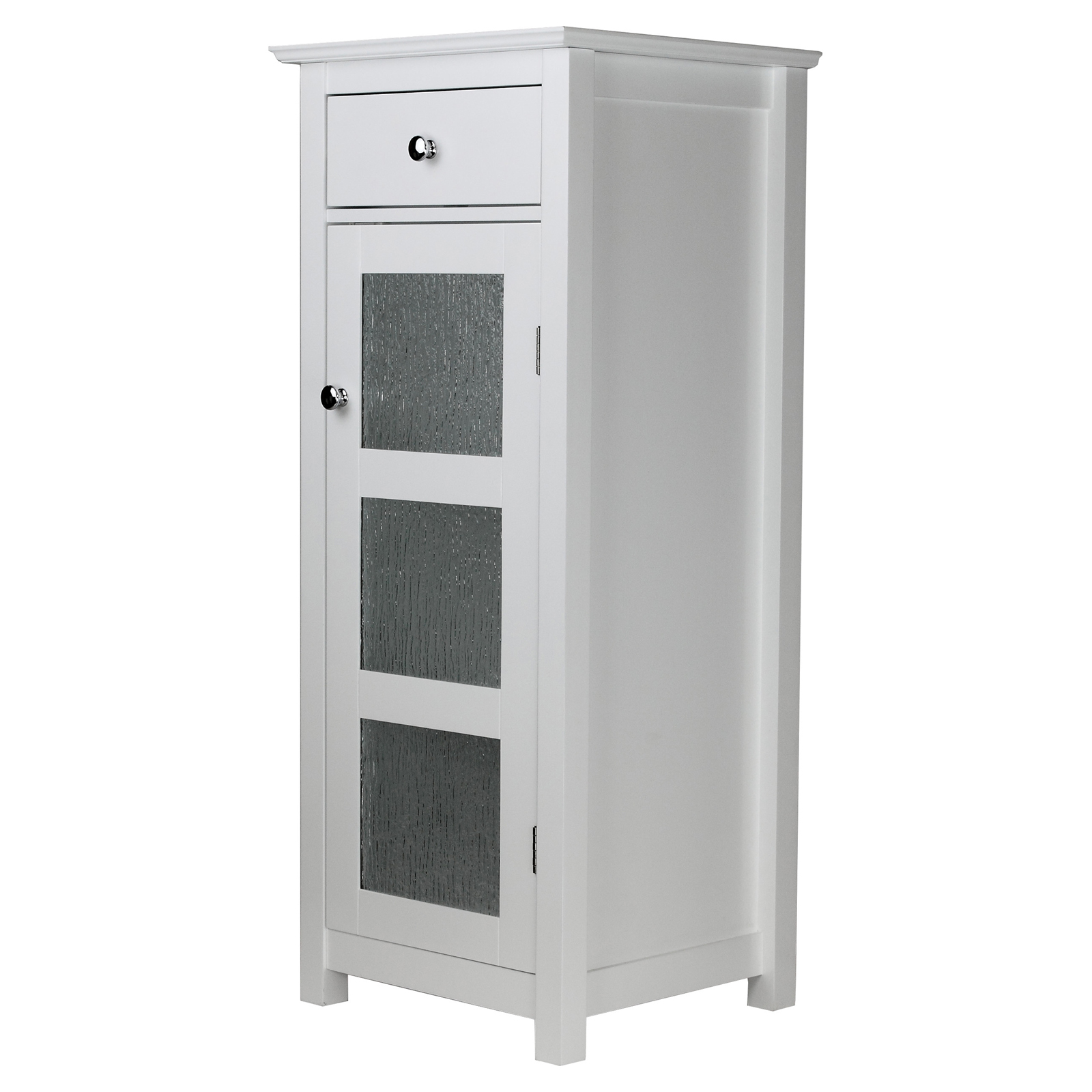 Elegant Home Fashions Connor 1 Door Floor Cabinet with Drawer ...