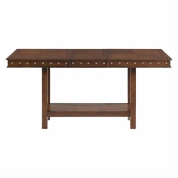 Picket House Furnishings Pruitt Counter Height 78 in. Rectangular Dining Table with Extension Leaf