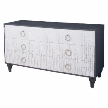 Dimond Home Deco Fern 6 Drawer Chest