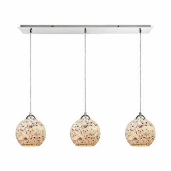 ELK Lighting Crosshatch 10741/3LP Linear Pendant Light