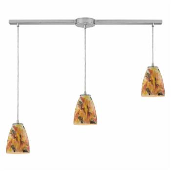 ELK Lighting 3 Light Linear Pendant