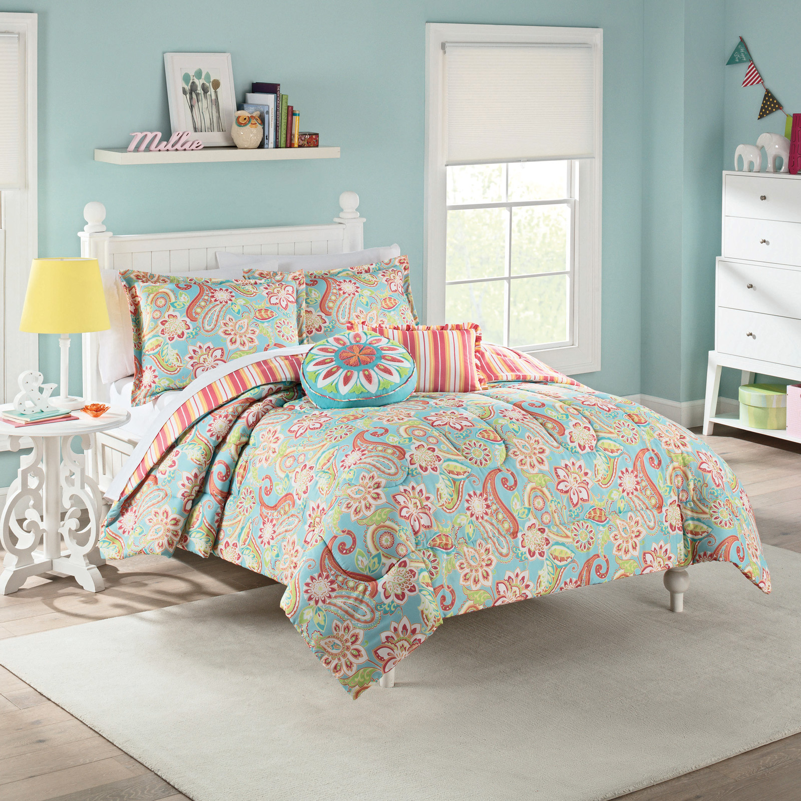 Wild Card Reversible Kids Comforter Set By Waverly