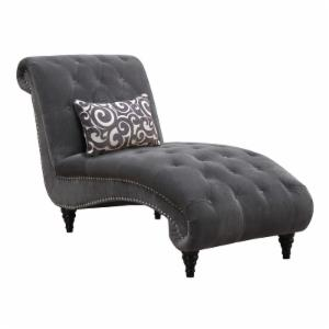 Emerald Home Hutton Ii Tufted Chaise