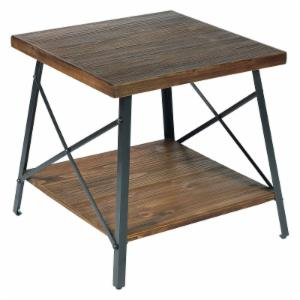 distressed industrial style end tables and side tables hayneedle
