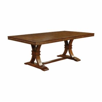 Furniture of America Fort Wooden Dining Table