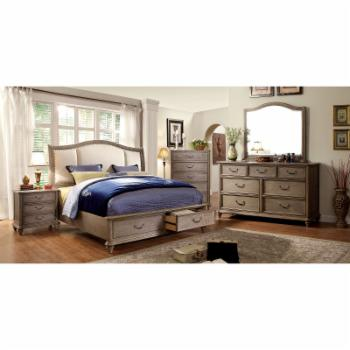 Furniture of America Wieldman Storage Sleigh Bed Set