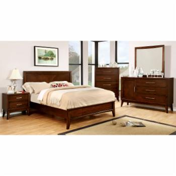 Furniture of America Mcpartland Panel Bed Set
