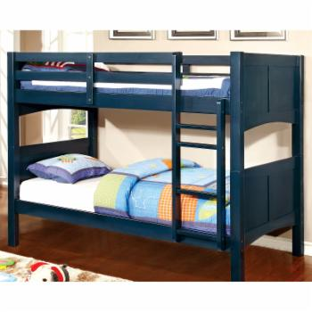 Furniture of America Barnes Twin Over Twin Bunk Bed