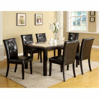 Furniture of America Laelius 7 Piece Dining Set