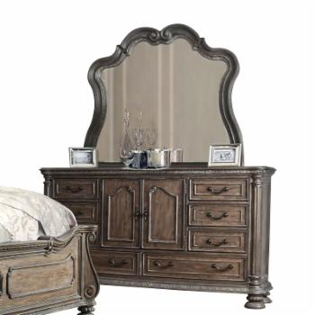Furniture of America Cleon II Traditional 8-Drawer Dresser with Mirror