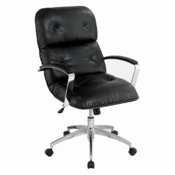 Furniture of America Barnhart Tufted Breathable Leatherette Office Chair
