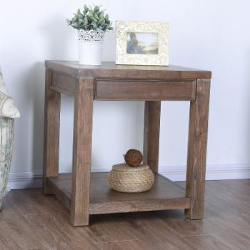 Furniture of America Keller Country End Table