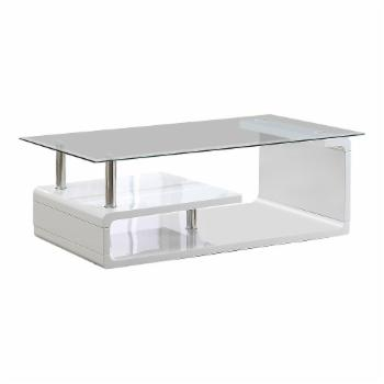 Furniture of America Neko Glass Top Coffee Table