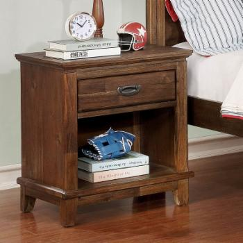 Furniture of America Timberon 5 Drawer Nightstand