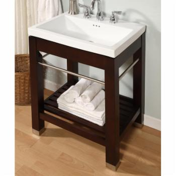 Empire Industries New York 21-in. Dark Cherry Open Shelf Console Vanity NY21DC Base