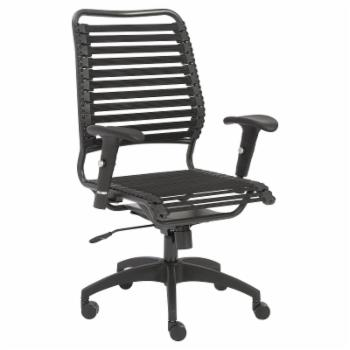Euro Style Baba Flat High Back Office Chair