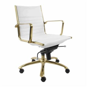 Euro Style Dirk Mid-Back Office Chair